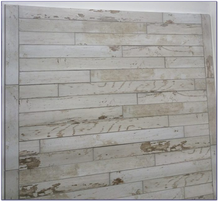Narrow Plank Wood Look Tile