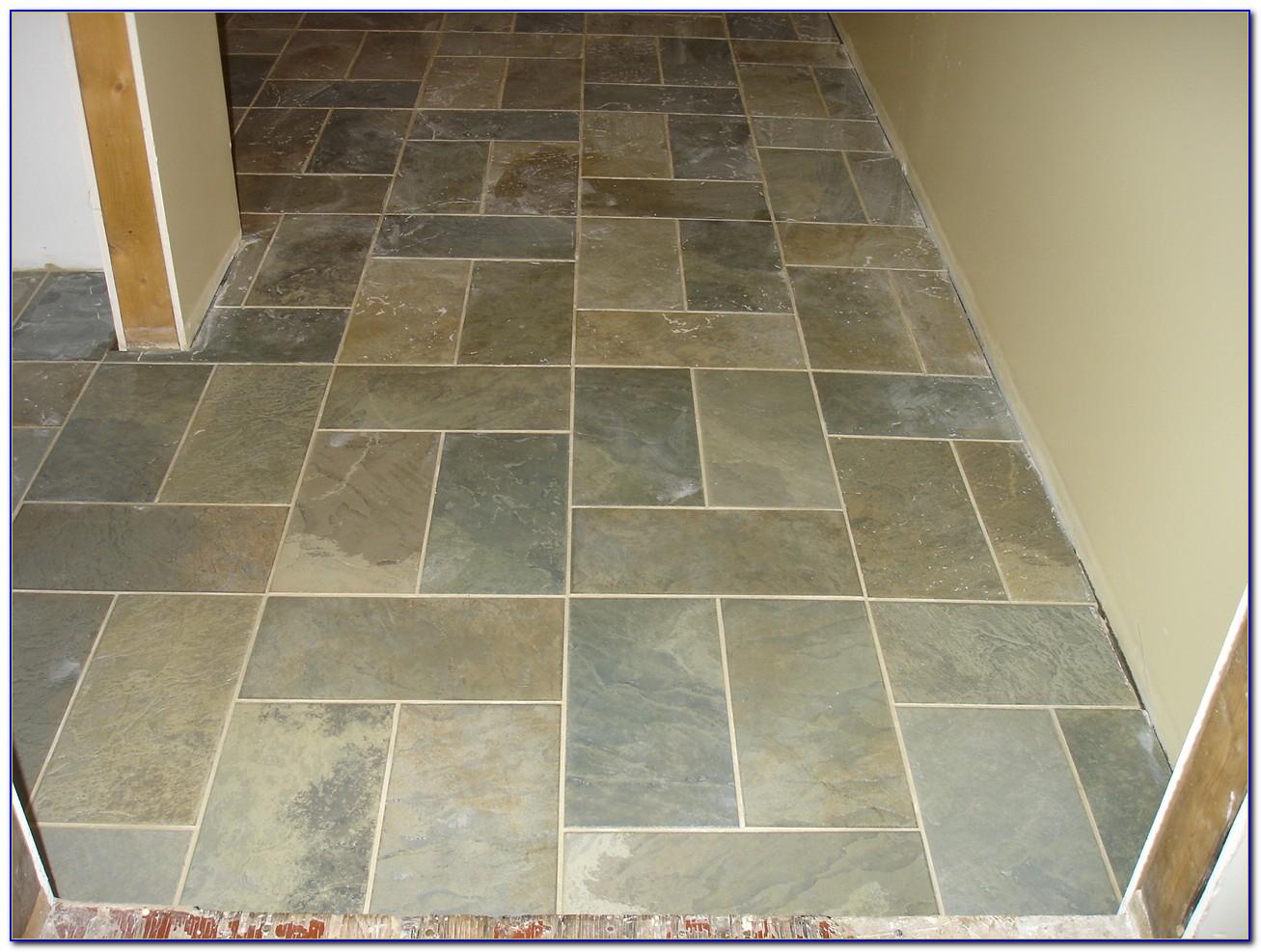 Painting Ceramic Tile To Look Like Slate