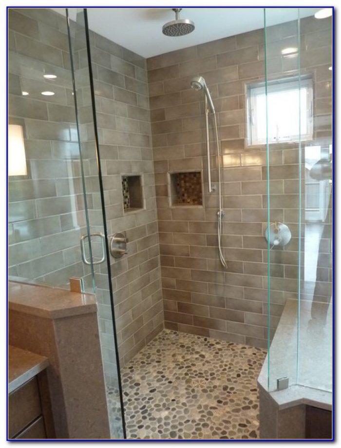 how to clean shower floor tile
