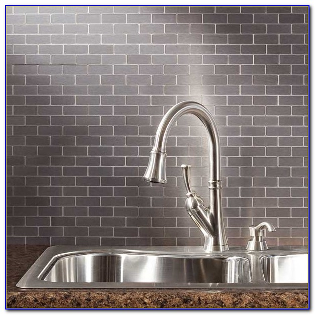 Peel and stick backsplash tile menards tiles home for Menards backsplash