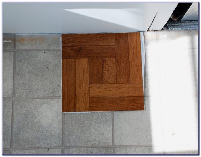 Peel And Stick Floor Tiles That You Grout
