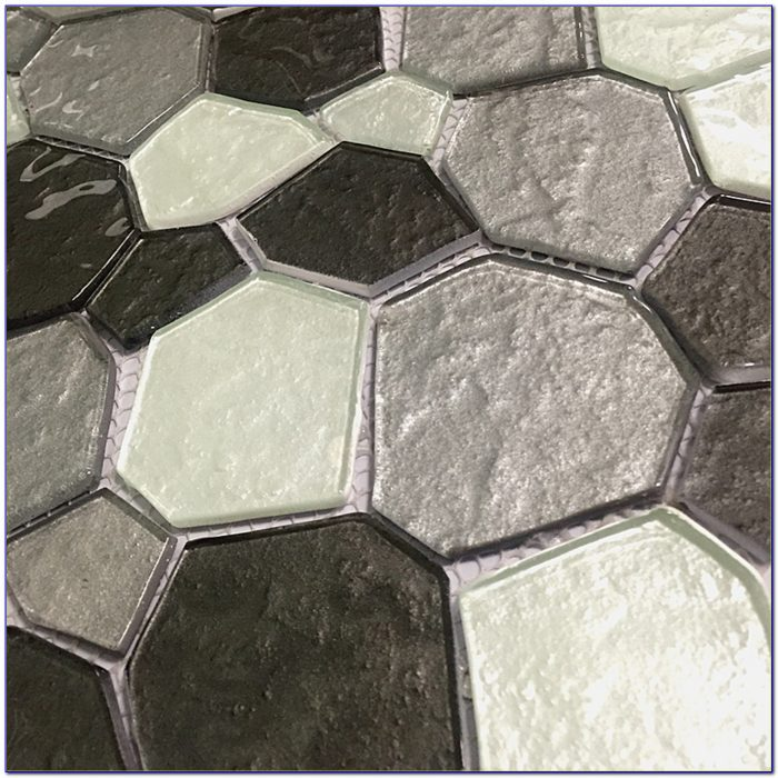 Peel And Stick Glass Tile Backsplash No Grout