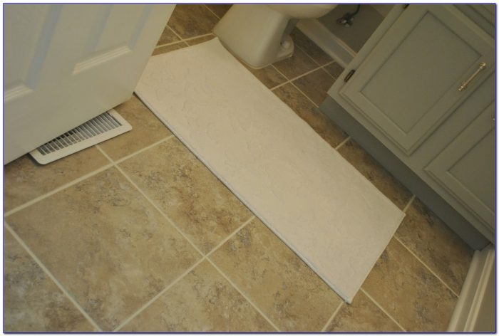 Peel And Stick Tile Flooring Installation