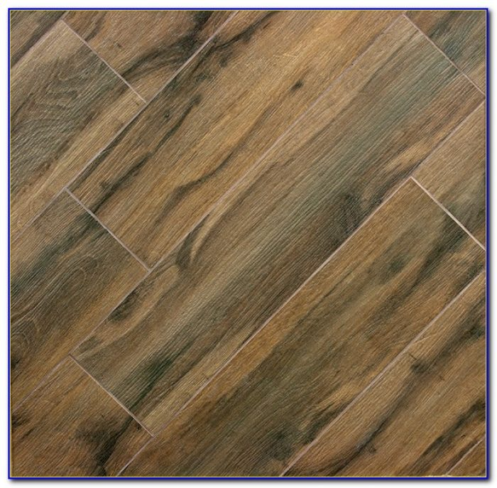 Porcelain Tile Looks Like Wood Planks