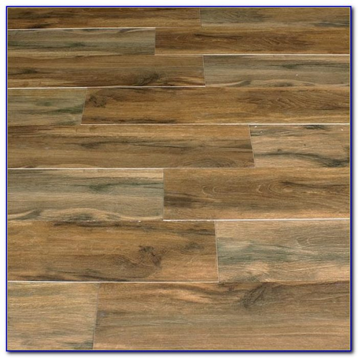 Porcelain Wood Plank Tile Pattern