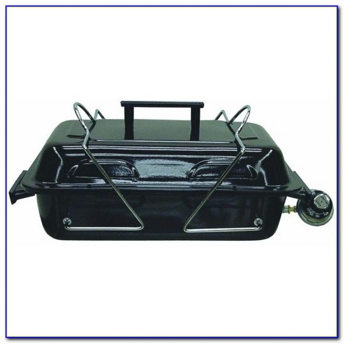 Portable Rectangular Table Top Gas Grills