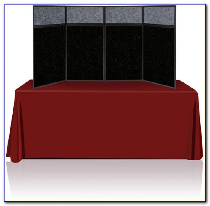 Portable Table Top Display Shelves