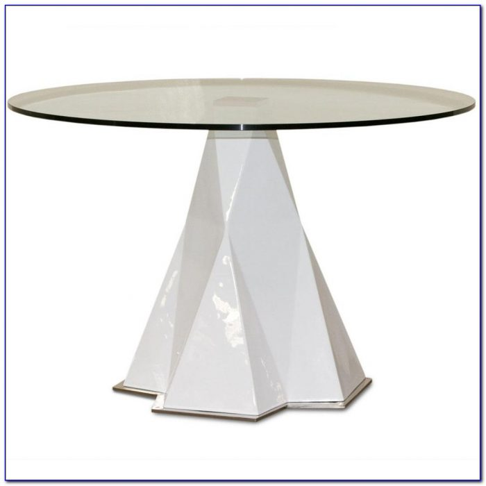 Round Glass Table Top 60 Inches