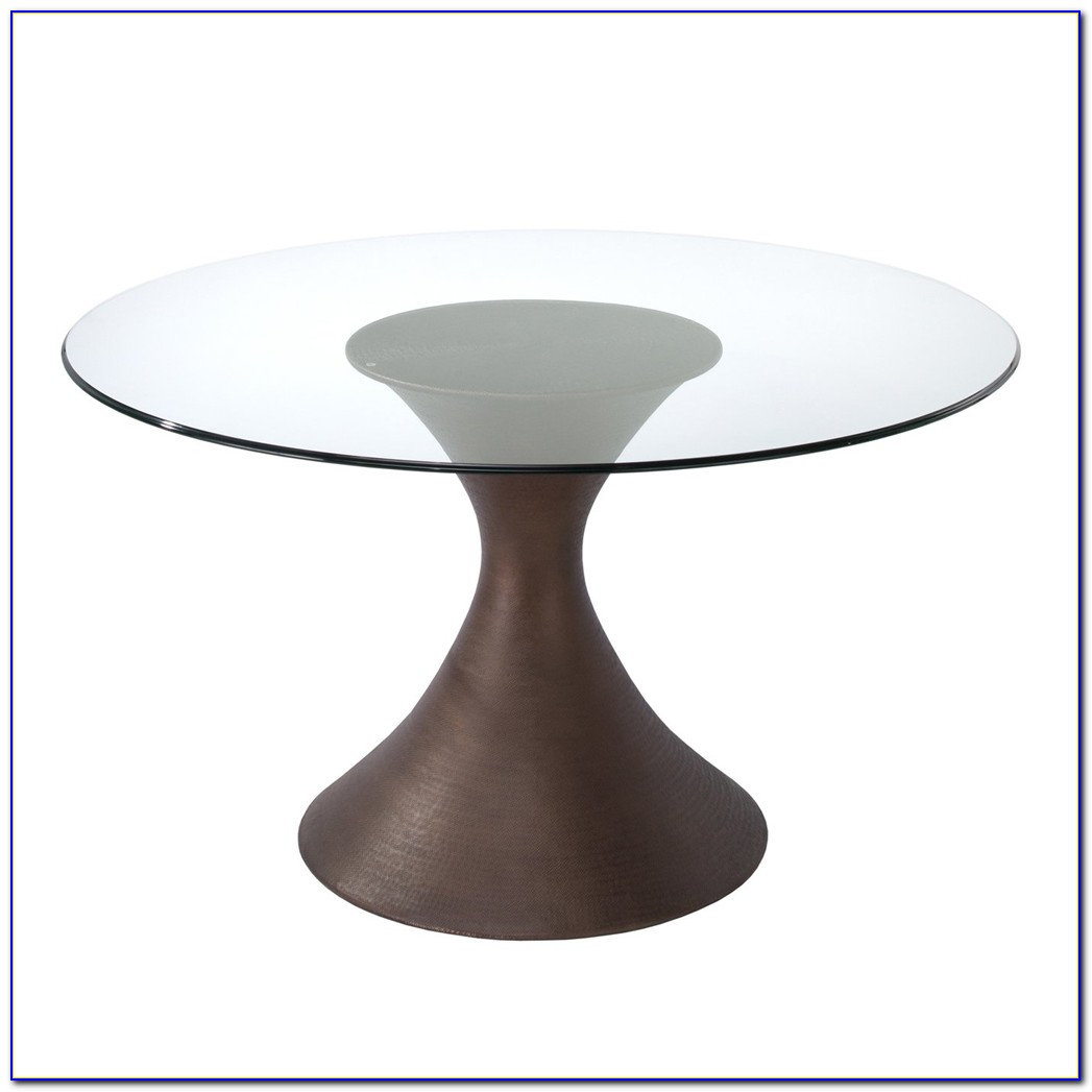 Round glass table top ikea tabletop home design ideas for Ikea glass table tops