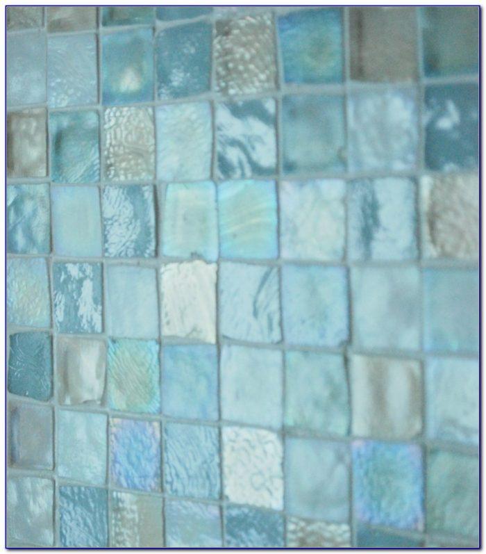 Sea Glass Subway Tile Backsplash