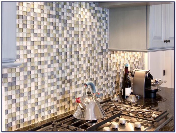 Self Adhesive Backsplash Tile Kits