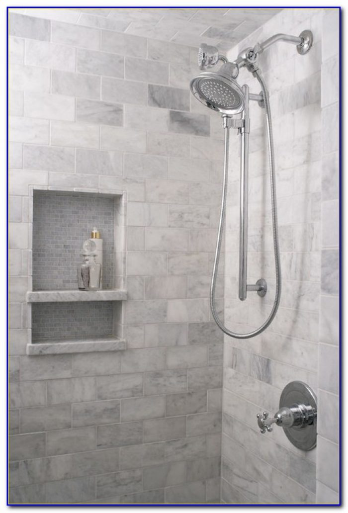 Shower Shelf Tile Ideas