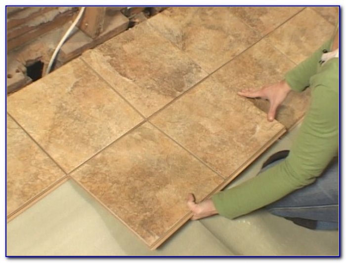 Snap Together Tile Flooring No Grout
