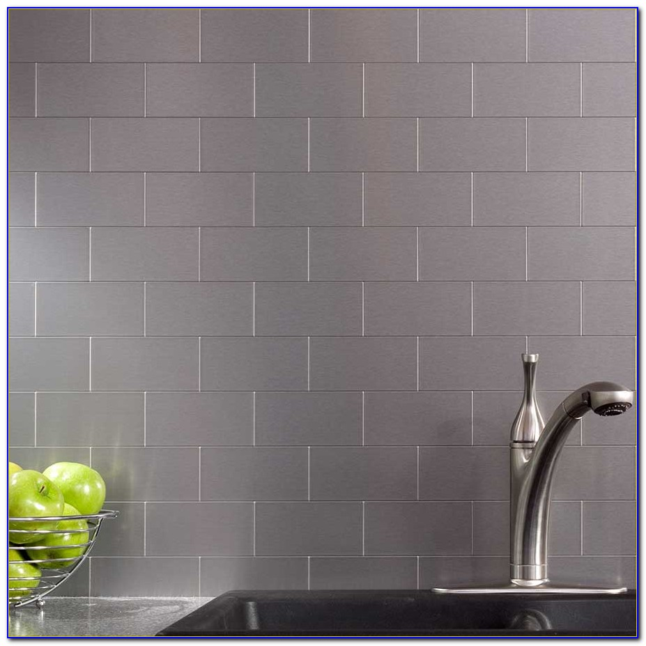Stainless Steel Backsplash Tiles How To Cut