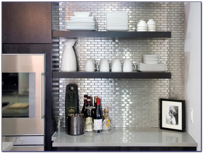 Stainless Steel Backsplash Tiles Menards