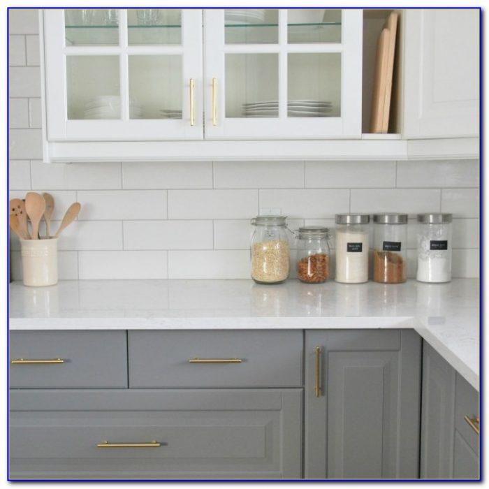 Subway Tile Backsplash Kitchen White