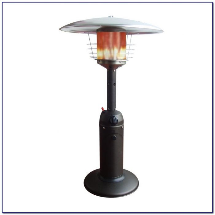 Propane tabletop heater tabletop home design ideas for Tabletop patio heater wont light