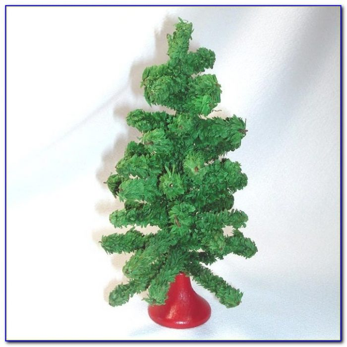 Tabletop Artificial Christmas Trees With Lights