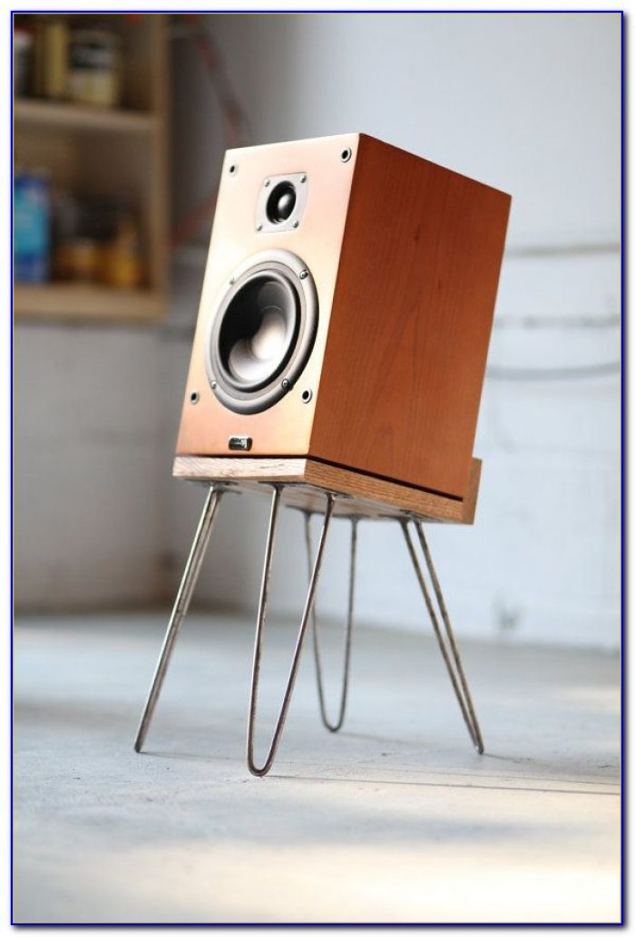 Tabletop Bookshelf Speaker Stands