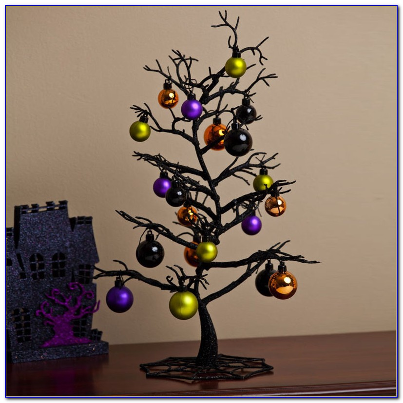 Tabletop Christmas Ornament Tree