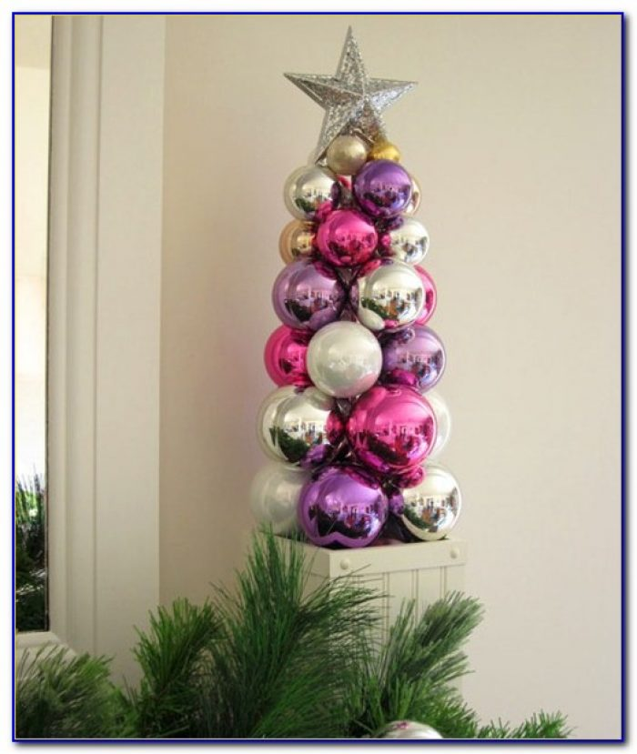 Tabletop Ornament Tree Display