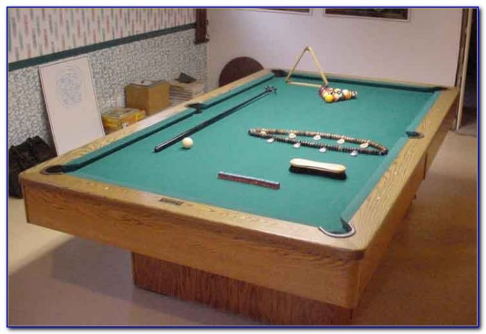 Tabletop Pool Table Full Size