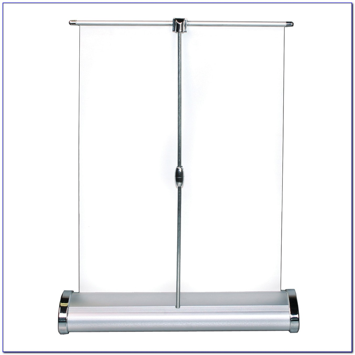 Tabletop Retractable Banner Stand 11.75 X 21