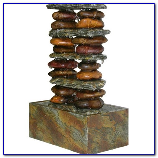 Tabletop Rock Water Fountain