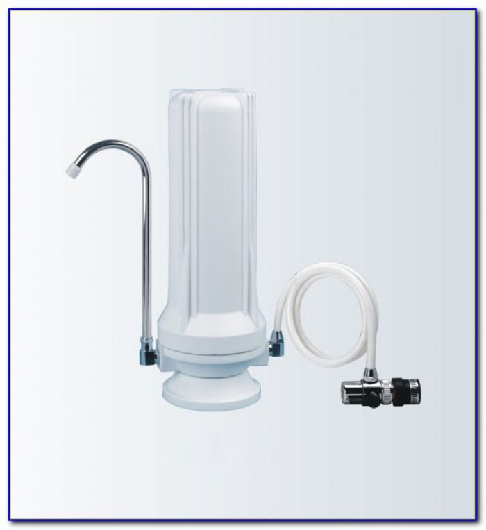 Tabletop Water Dispenser With Filter