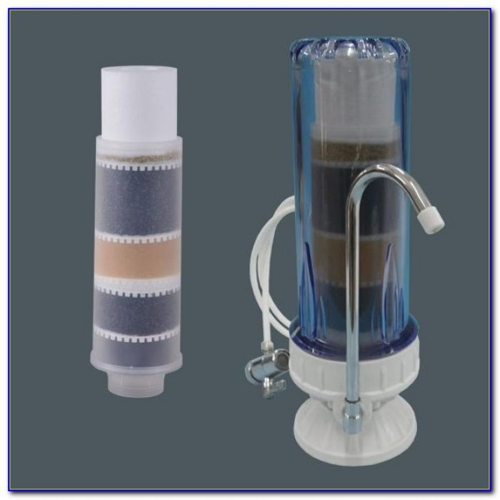 Tabletop Water Filter