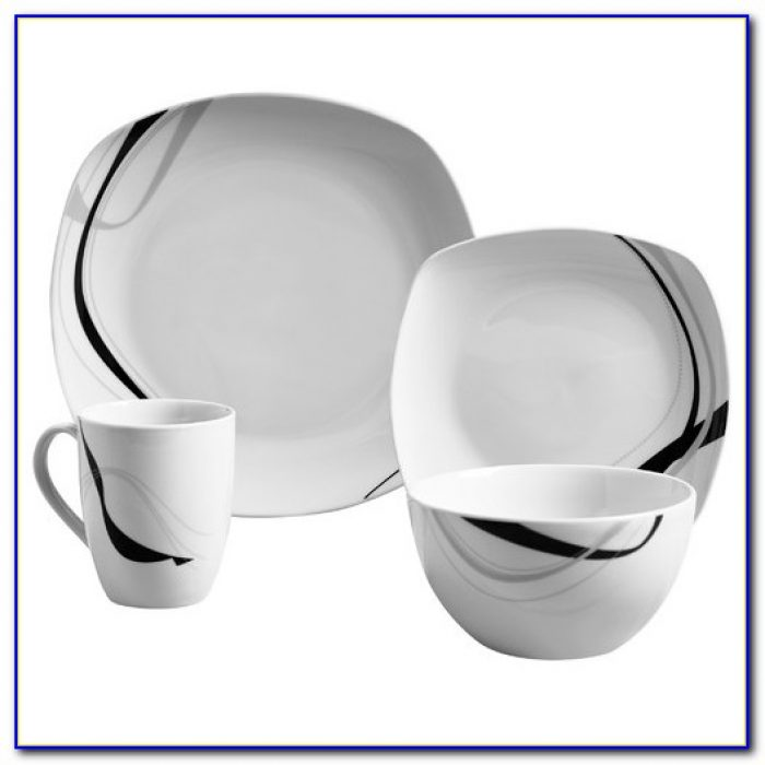Tabletops Gallery Luna Dinnerware Set