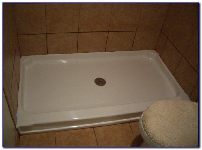 Tile Above Shower Pan