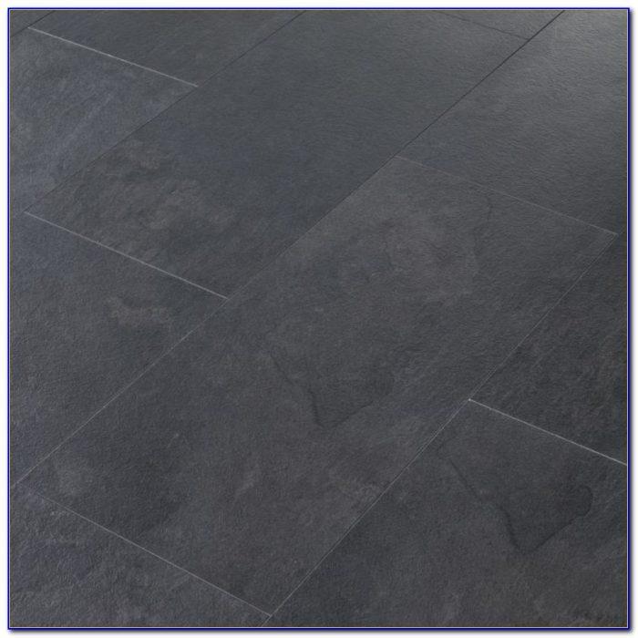 Tile Effect Laminate Flooring Black