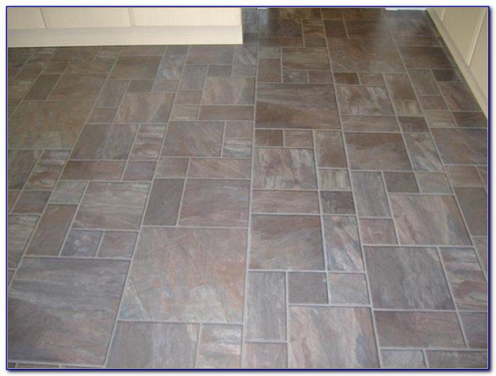Tile Effect Laminate Flooring Grey