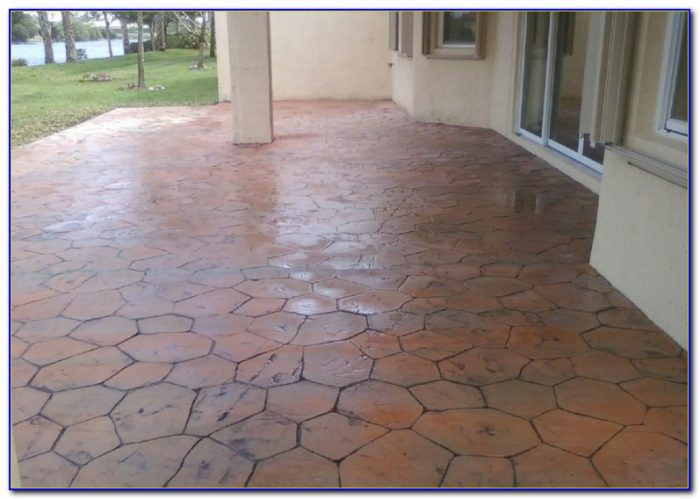 Tile Over Cracked Concrete Patio