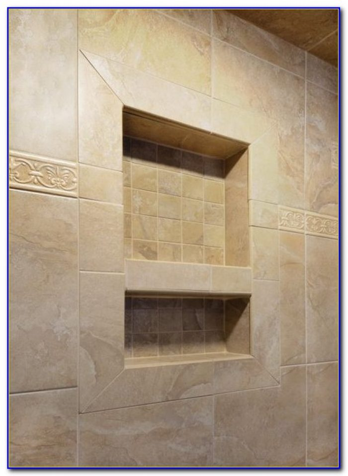 Tile Redi Shower Niche Canada Tiles Home Design Ideas