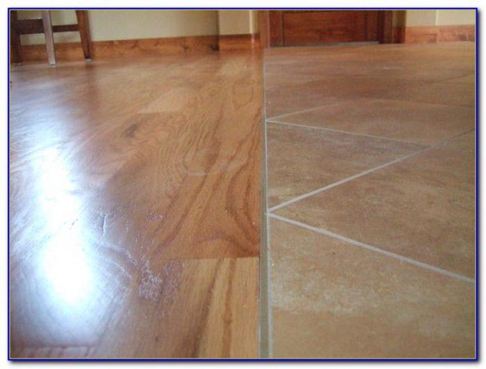 Tile To Hardwood Transition Piece