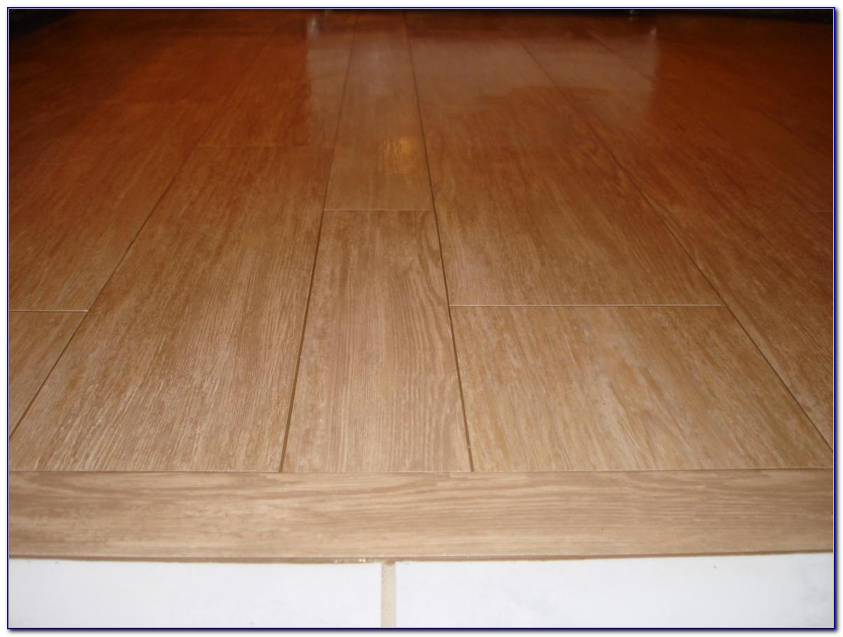 Tile To Wood Floor Transition Reducer