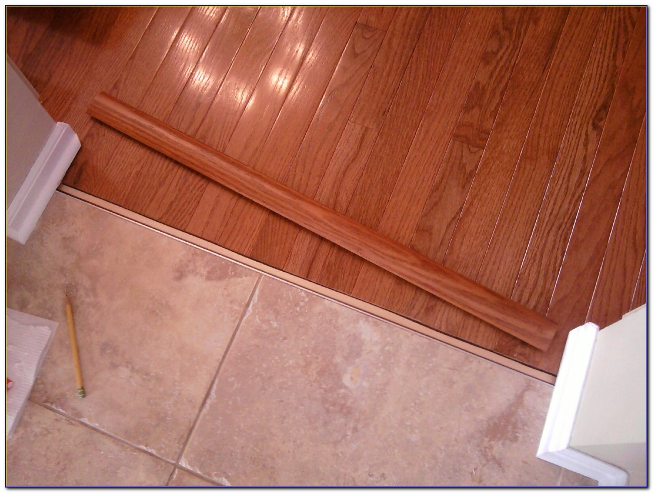 Tile To Wood Floor Transition Strip