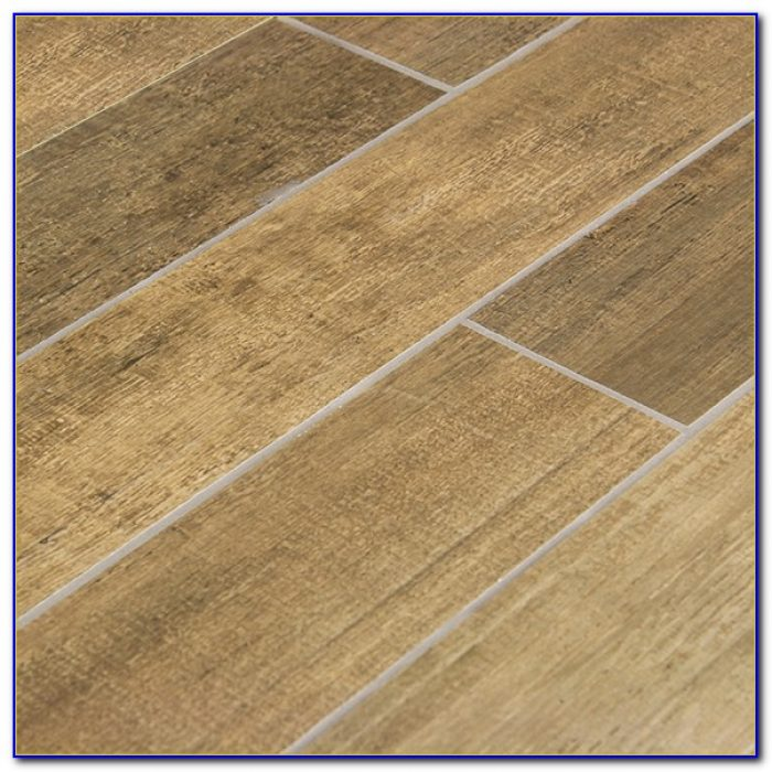Wood Grain Ceramic Tile Planks