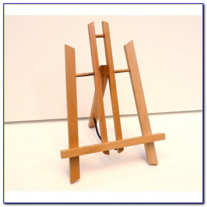 Wooden Childrens Table Top Easel