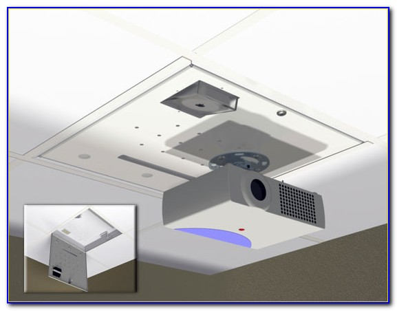 2x4 Ceiling Tile Projector Mount