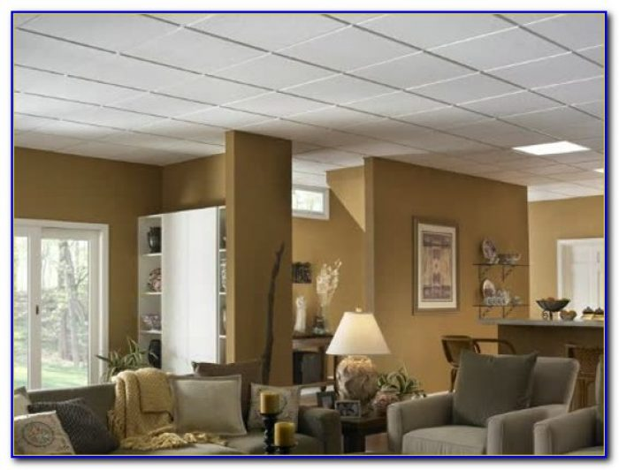 Armstrong Drop Ceiling Tile Installation