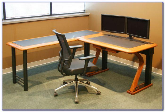 Best Computer Desk For Dual Monitors