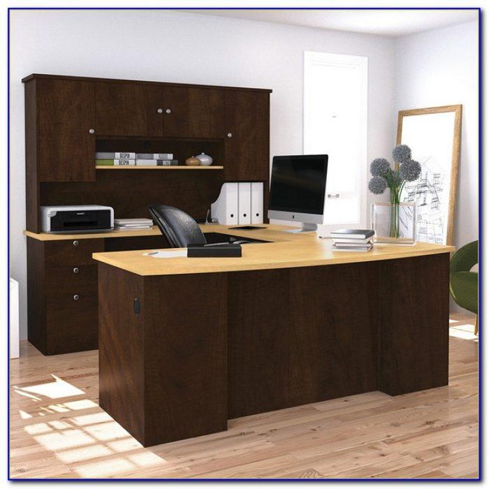 Bestar Manhattan U Shaped Desk Desk Home Design Ideas