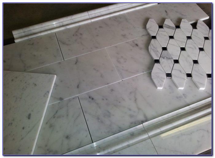 Bianco Carrara Marble Tile Honed