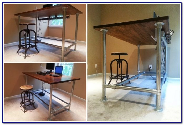 Build Yourself A Standing Desk
