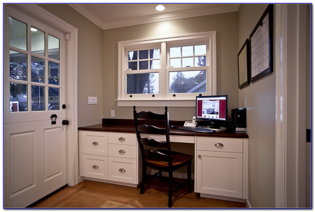 Built In Office Cabinets Ideas