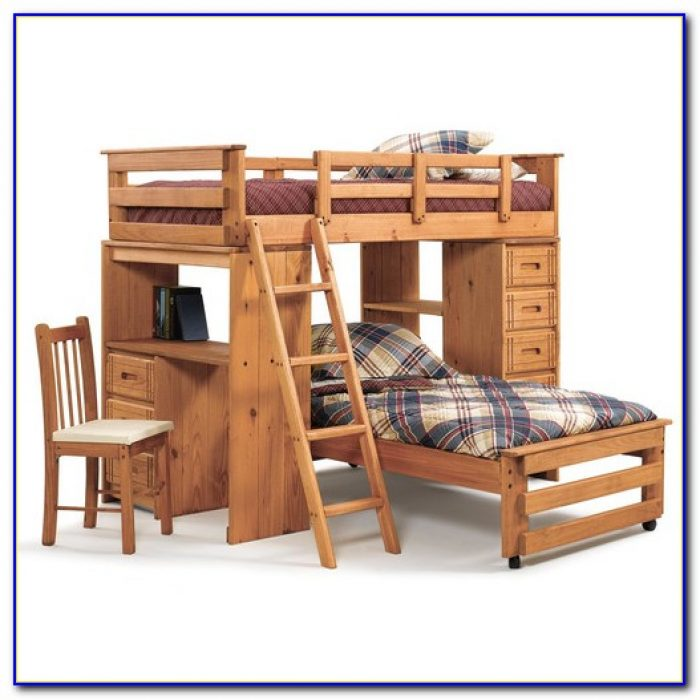 Bunk Bed Desk And Couch