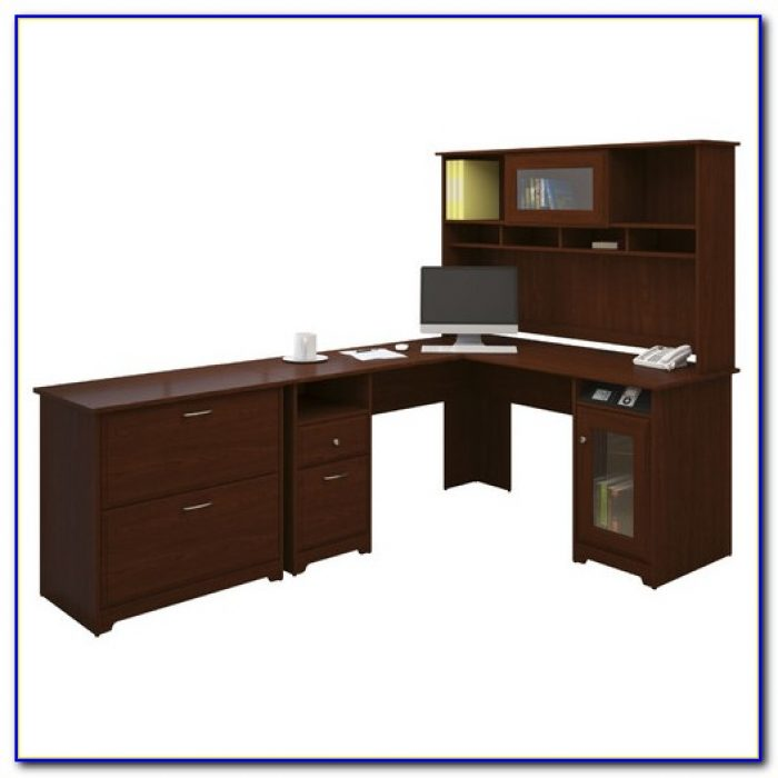 Bush Cabot L Shaped Desk Assembly Instructions Desk